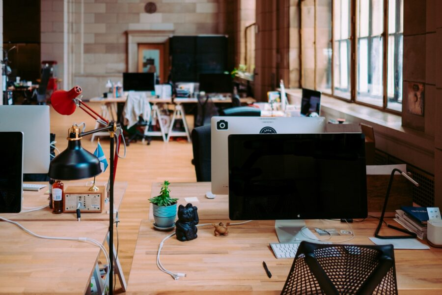 bureau entreprise open space