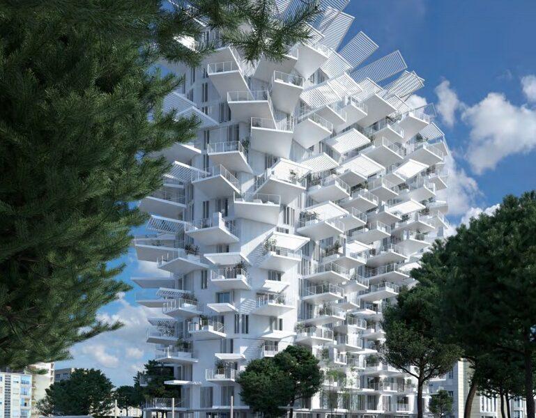 Immeuble L'Arbre Blanc, à Montpellier